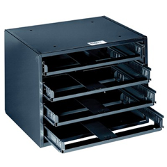 KLT409-54474 - Klein Tools - 4-Box Slide Racks