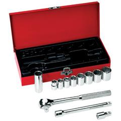 KLT409-65504 - Klein Tools - 12 Piece Socket Sets