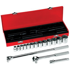 KLT409-65512 - Klein Tools16 Piece Socket Sets