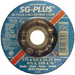 PFR419-69865 - PferdType 27 SGP-INOX Depressed Center Thin Cut-Off Wheels