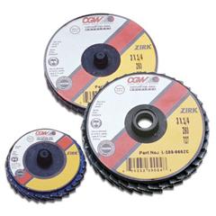 CGW421-30015 - CGW AbrasivesFlap Discs, Mini, Zirconia, Quick Change, Type R