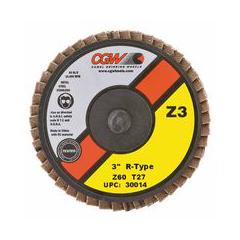 CGW421-30014 - CGW AbrasivesFlap Discs, Mini, Zirconia, Quick Change, Type R