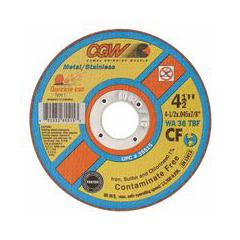 CGW421-35515 - CGW Abrasives - Quickie Cut™ Contaminate Free Cut-Off Wheels