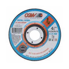 "CGW421-35612 - CGW AbrasivesDepressed Center Wheels-Cutting / Notching - 1/8"""