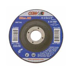 """CGW421-35620 - CGW AbrasivesDepressed Center Wheels- 1/4"""" Grinding, Type 27"""