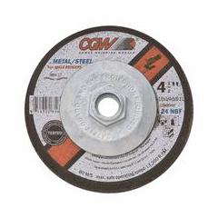 """CGW421-35623 - CGW Abrasives - Depressed Center Wheels- 1/4"""" Grinding, Type 27"""