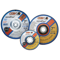 "CGW421-37525 - CGW AbrasivesDepressed Center Wheels- 1/4"" Grinding, Type 27"