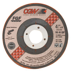 CGW421-36270 - CGW AbrasivesType 27 Depressed Center Wheels - FGF Wheels
