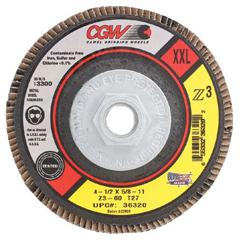 CGW421-36319 - CGW AbrasivesFlap Discs, Z3 -100% Zirconia, XXL