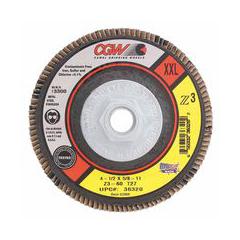 CGW421-36320 - CGW AbrasivesFlap Discs, Z3 -100% Zirconia, XXL