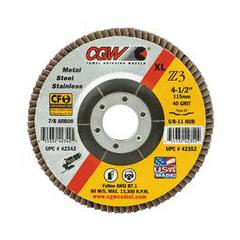 CGW421-42342 - CGW AbrasivesFlap Discs, Z3 -100% Zirconia, XL