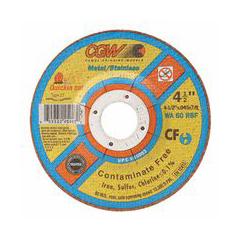 CGW421-45003 - CGW AbrasivesQuickie Cut™ Contaminate Free Cut-Off Wheels
