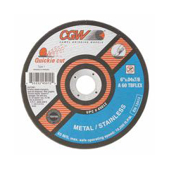 CGW421-45012 - CGW AbrasivesQuickie Cut™ Extra Thin Cut-Off Wheels