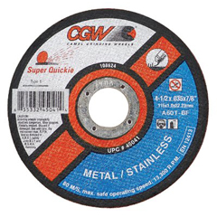 CGW421-45099 - CGW AbrasivesSuper-Quickie Cut™ Cut-Off Wheels