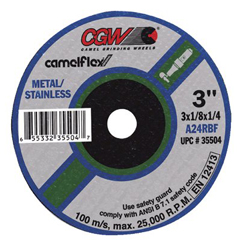 CGW421-59102 - CGW AbrasivesFast Cut - Type 1 Depressed Center Wheels