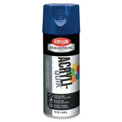 ORS425-K01901A07 - KrylonInterior/Exterior Industrial Maintenance Paints, 12 oz Aerosol Can, Regal Blue