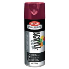ORS425-K02101A07 - KrylonInterior/Exterior Industrial Maintenance Paints, 12 oz Aerosol Can, Cherry Red