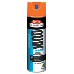 ORS425-A03700004 - KrylonQuik-Mark Water-Based Fluorescent Inverted Marking Paints, 17 oz, Orange
