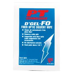 PTT429-61200 - PT TechnologiesDGel®-FO Fiber Optic Solvent Wipes