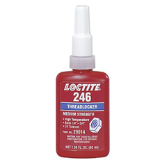 LOC442-29513 - Loctite246™ Threadlocker, Medium Strength/High Temperature