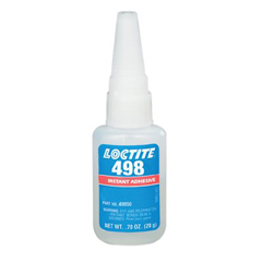 LOC442-49850 - Loctite498™ Super Bonder® Instant Adhesive, Thermal Cycling Resistant