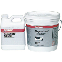 LOC442-235573 - LoctiteFixmaster Magna-Crete, 5 Gal, Bottle/Bucket Kit, Grey