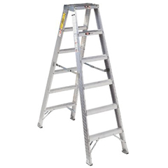ORS443-AM1003 - Louisville LadderAM1000 Series Master Aluminum Twin Front Step Ladders