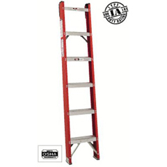 ORS443-FH1012 - Louisville LadderFH1000 Series Classic Fiberglass Shelf Ladders