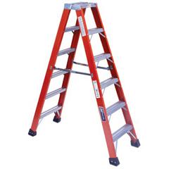 ORS443-FM1416HD - Louisville LadderFM1400HD Series Brute™ 375 Twin Front Fiberglass Ladders