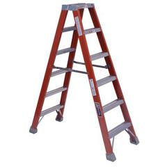 ORS443-FM1504 - Louisville LadderFM1500 Series Fiberglass Twin Front Ladders