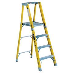 ORS443-FP1106HD - Louisville LadderFP1100HD Series Rhino 375™ Fiberglass Platform Step Ladders