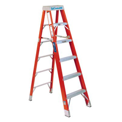 ORS443-FS1404HD - Louisville LadderFS1400HD Series Brute™ 375 Fiberglass Step Ladders