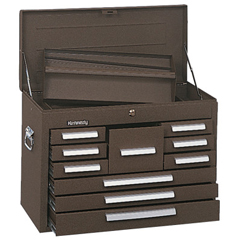 KEN444-360B - KennedyStandard Mechanics Chests, 26 1/8 In X 12 1/16 In X 18 7/8 In, Brown Wrinkle