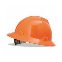ORS454-10021292 - MSAFluorescent Orange V-Gard Hat w/Ratchet Suspension
