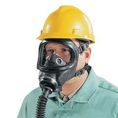 MSA454-457126 - MSAGas Mask Facepiece,Ultravue & Ultra Elite Full Facepiece Respirator, Bk, 6/Pk