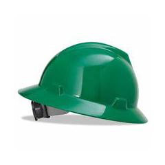 ORS454-475370 - MSAGreen V-Gard Hard Hat
