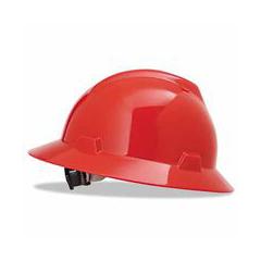 ORS454-475371 - MSA - Red V-Gard Hard Hat
