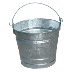 MGB455-10QT - Magnolia Brush10Qt Galvanized Water Pail