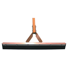 MGB455-4130 - Magnolia BrushStraight Squeegees, 30 In, Black Rubber, With Handle