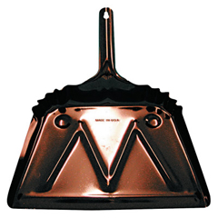 MGB455-6 - Magnolia BrushDust Pans, 12 In W, 20 Gauge Steel, Black