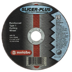 "MTA469-55352 - Metabo - ""SLICER-PLUS"" High Performance Cutting Wheels"