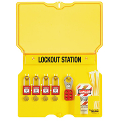MLK470-1482BP410 - Master LockSafety Series Lockout Stations With Key Registration Card, 16 In, Zenex Thermpls