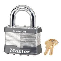 MST470-15DCOM - Master LockNo. 15 Laminated Steel Pin Tumbler Padlocks