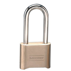 MST470-175DLH - Master LockNo. 175 Combination Brass Padlocks