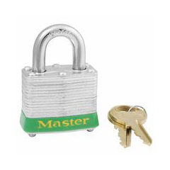 MLK470-3LHBLKINK - Master LockSteel Body Safety Padlocks