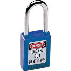 MST470-410BLU - Master Lock - No. 410 & 411 Lightweight Xenoy Safety Lockout Padlocks