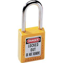 MST470-410YLW - Master LockNo. 410 & 411 Lightweight Xenoy Safety Lockout Padlocks