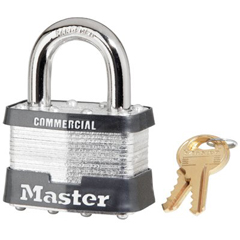 MST470-5DLFCOM - Master LockNo. 5 Laminated Steel Pin Tumbler Padlocks