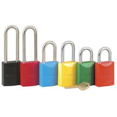 MST470-6835LTYLW - Master LockPro Series® High Visibility Aluminum Padlocks