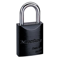 MST470-6835BLK - Master LockPro Series® High Visibility Aluminum Padlocks